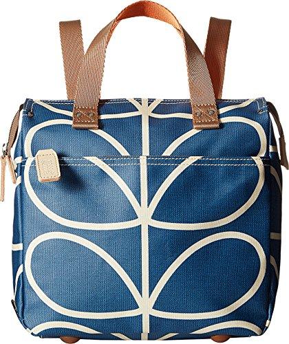 Orla Kiely Giant Linear Stem Small Backpack, Marine