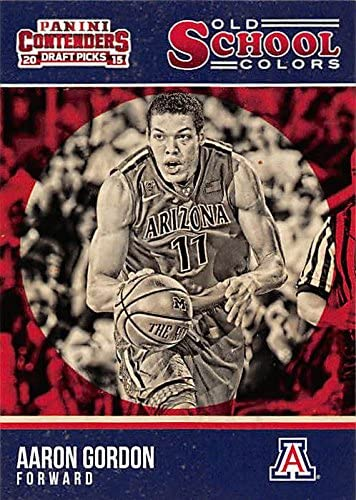 Aaron Gordon basketball card (Arizona Wildcats) 2015 Panini Old ...