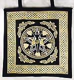 Cheap Pentagram Goddess Tote Bag