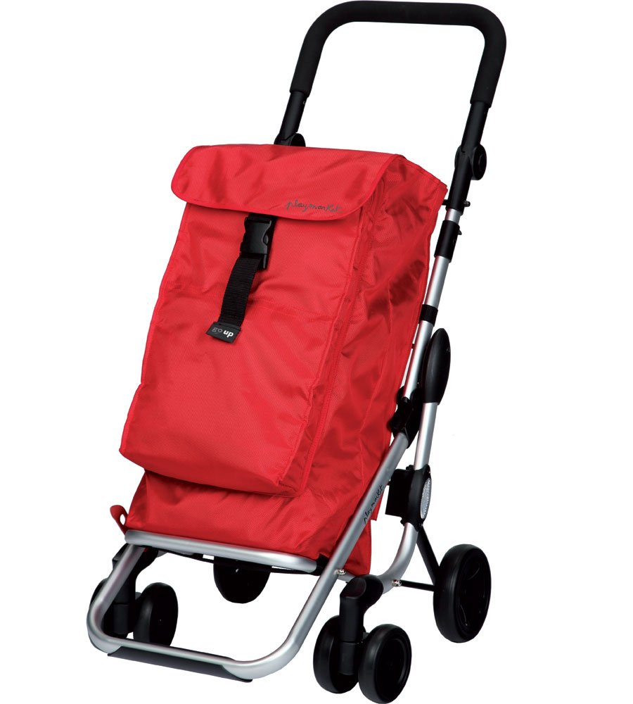 Playmarket 24910CH-209 Go Up Shopping Cart Trolley, Red B01JKFY71S