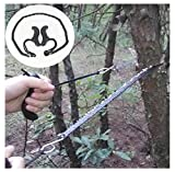 Outdoor Hand-Pull Wire Saws,Rambling Camping Hiking Emergency Survival Hand Tool Kit Gear Portable Pocket Chain Saw