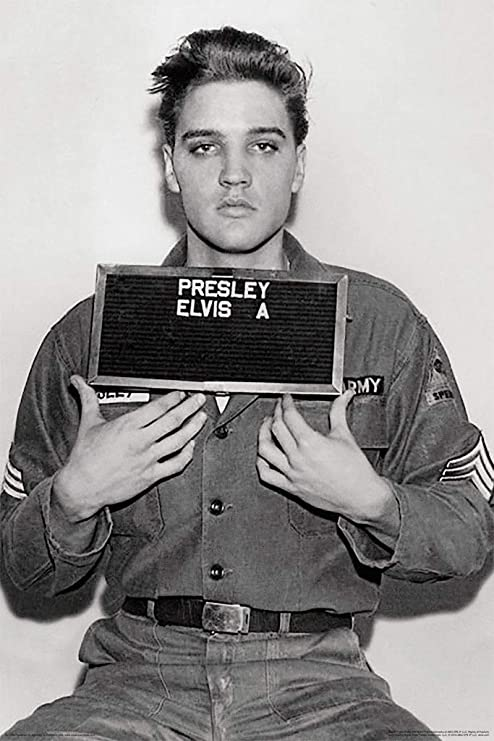 Elvis Presley Poster 24x36 inch rolled wall poster