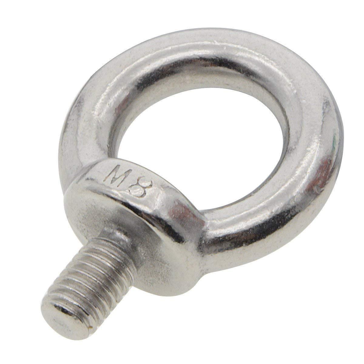 Saim Ringschrauben Schraube M16 Au/ßengewinde 304 Edelstahl Ringschrauben Ringschrauben Mutter Verschluss 2 St/ücke
