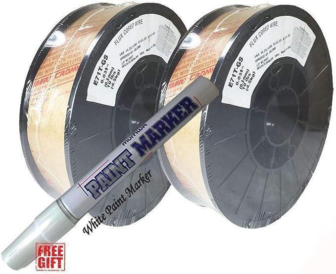 """1 spool E71T-GS .030/"""" 10lb Flux Cored welding wire"""