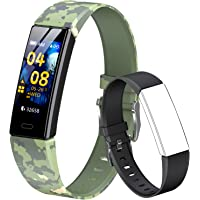 QOOGOT Fitness Tracker for Kids Girls Boys 6+, Waterproof Activity Tracker with Heart Rate Sleep Monitor,11 Sport Modes…