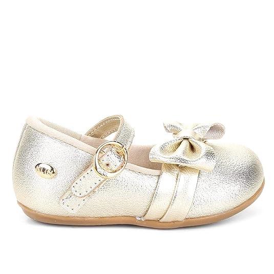 35f608234 Sapato Infantil Klin Cravinho Princess Feminino - Dourado - 20:  Amazon.com.br: Amazon Moda