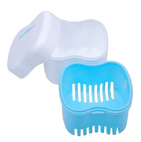 Amazon.com: Estuche y pincel para dentaduras; envase ...