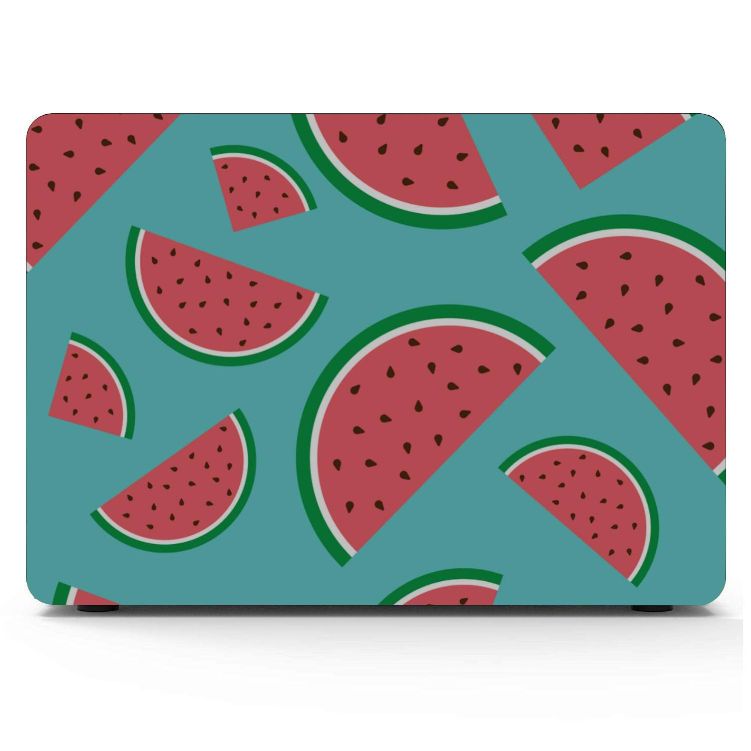 MacBook Air Case A1466 Summer Sweet Cool Fruit Watermelon Plastic Hard Shell Compatible Mac Air 11 Pro 13 15 Protective MacBook Pro Case Protection for MacBook 2016-2019 Version