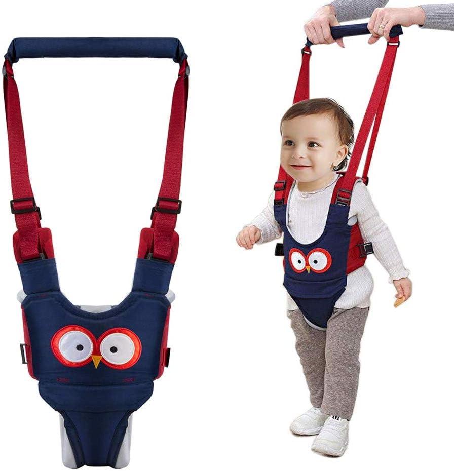 Phiraggit Arnés de Bebe,Arnés de Seguridad Bebe para Caminar Ajustable con Hebilla de Seguridad, Cinturón de Andador, Arnés de Bebe a Pie de Caminado Aprendizaje Chaleco para Niños 7-24 meses