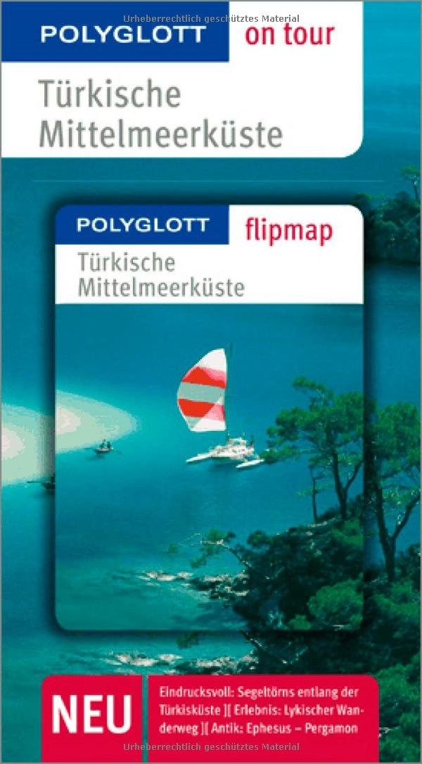 Türkische Mittelmeerküste: Polyglott on tour mit Flipmap