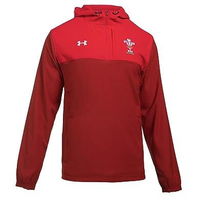 a7e2665456dc4 Pays de Galles WRU 2017 19 - Veste de Rugby Supporters - Rouge Daredevil   Amazon.fr  Vêtements et accessoires