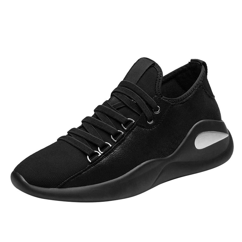 HPLL Schuh Herren-Skate-Schuhe, Schwarze Freizeitschuhe, Mesh-Schuhe, niedrig zu helfen, atmungsaktiv, Frühjahr und Herbst 38-43