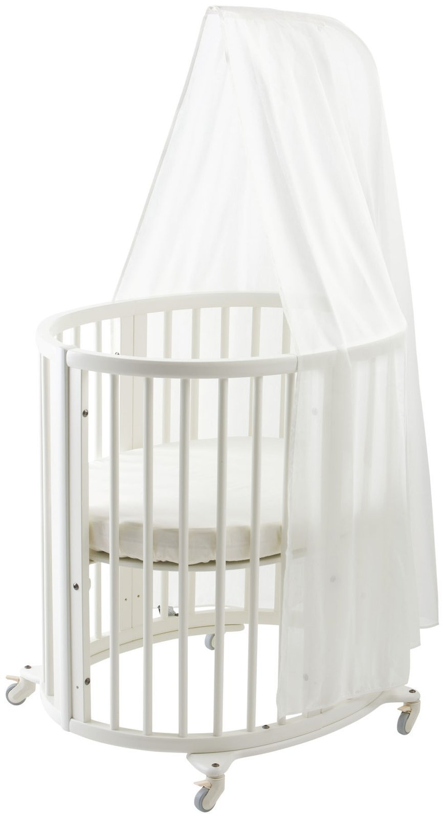stokke sleepi canopy white crib insect netting baby. Black Bedroom Furniture Sets. Home Design Ideas
