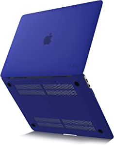 Kuzy MacBook Air 13 inch Case 2020 2019 2018 Release A2179 A1932 Soft Touch Newest Version Hard Shell Cover for 13 inch MacBook Air Case with Retina Display, MacBook Air 2020 Case, Navy
