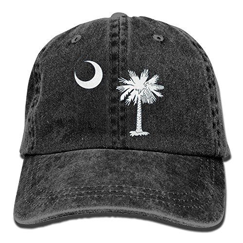 Denim Creative Carolina longkouishilong Adjustable Flag béisbol Hats South Baseball Gorras Caps wXq8fa