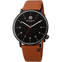 Deals on Bruno Magli Roma Moderna Quartz Black Dial Men's Watch