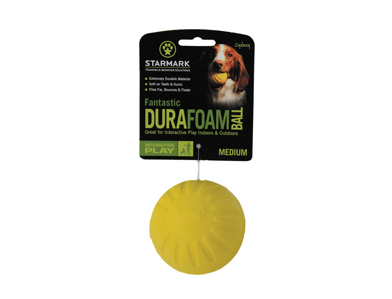 Fantastic Foam Ball Medium, Colors Vary