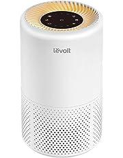 Levoit Purificatore d'Aria Casa Hepa Portatile, Efficenza Filtrazione 99,97%, Risparmia Energia con Luce Notturna Arancia&Timer, Modalità Sonno 26 dB per Allergie, Animali Domestici, Fumi, Polveri