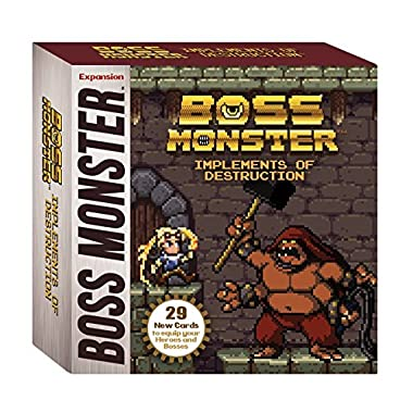 Brotherwise Games Boss Monster Implements Destruction Board Games