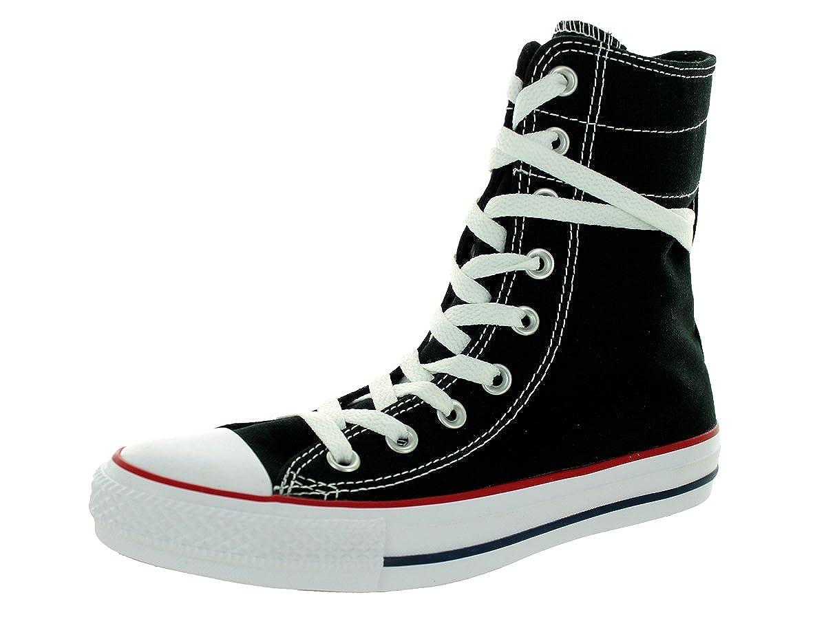 b2871e99cecc3 Converse Women's Chuck Taylor All Star Hi-Rise Black/White/Red 9.5 M