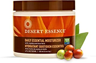 product image for Desert Essence Daily Essential Facial Moisturizer - 4 Fl Oz - Jojoba Oil - Aloe Vera - Prevents Acne - Soft Radiant Skin - Geranium Essential Oil for Natural Fragrance - For Normal Skin