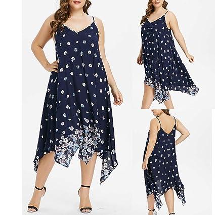 wave166 Verano Vestido de Las señoras Mini Vestido con Hombros ...