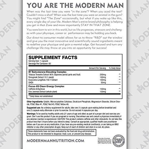 Modrn Men, 2 In 1, 60 Capsules