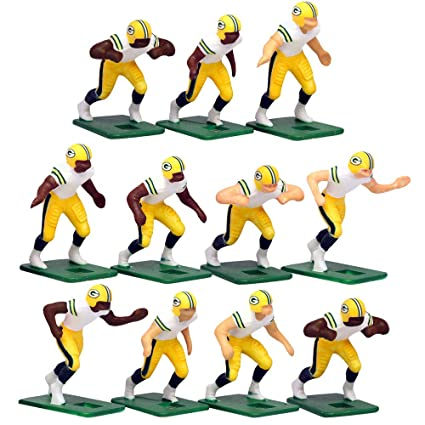 243e52fff Amazon.com  Green Bay Packers Away Jersey NFL Action Figure Set  Toys    Games