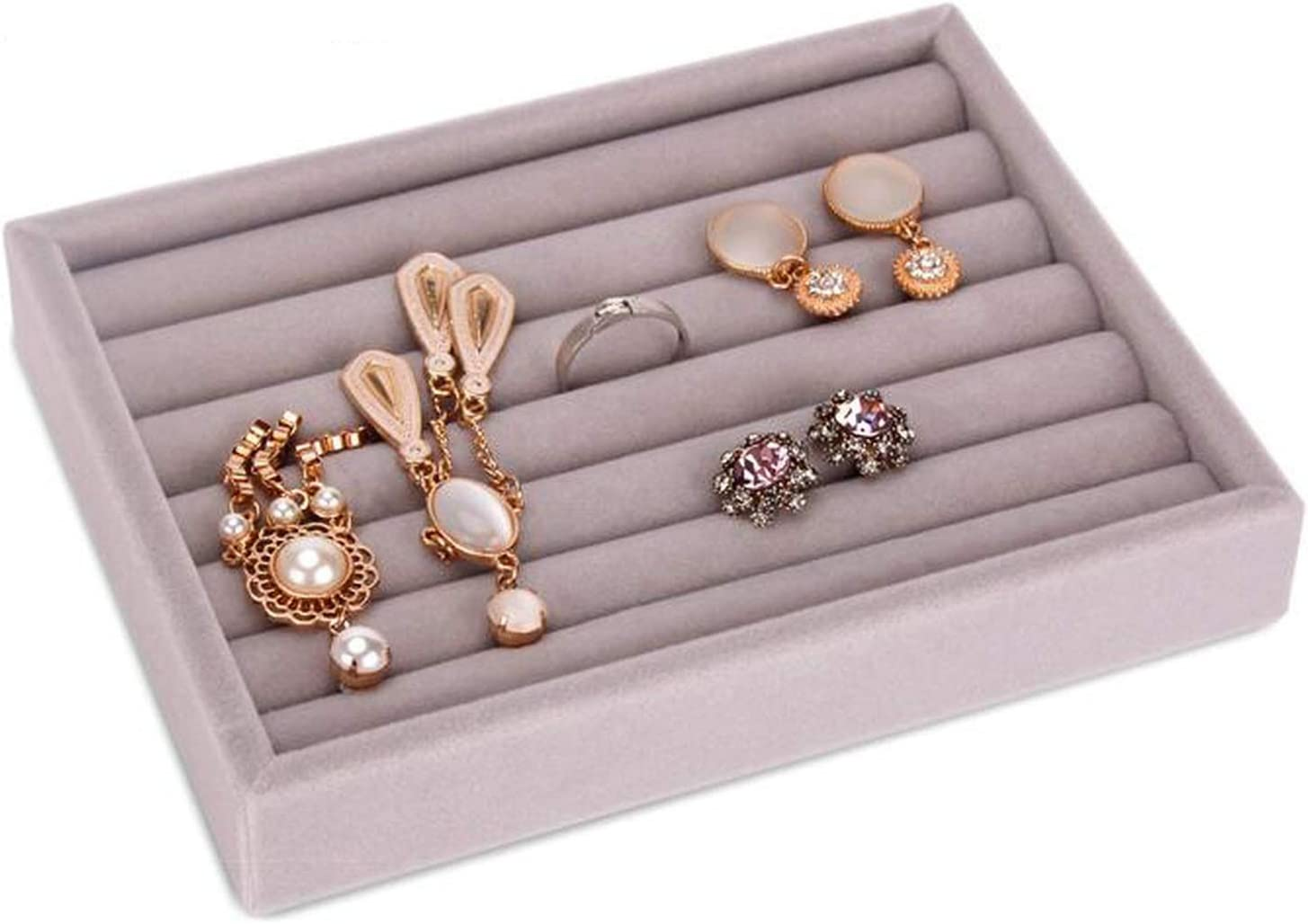 Amazon Com Drawer Diy Jewelry Storage Tray Ring Bracelet Gift Box Jewellery Organizer Small Size Fit Most Room Space Ring Tray Home Kitchen