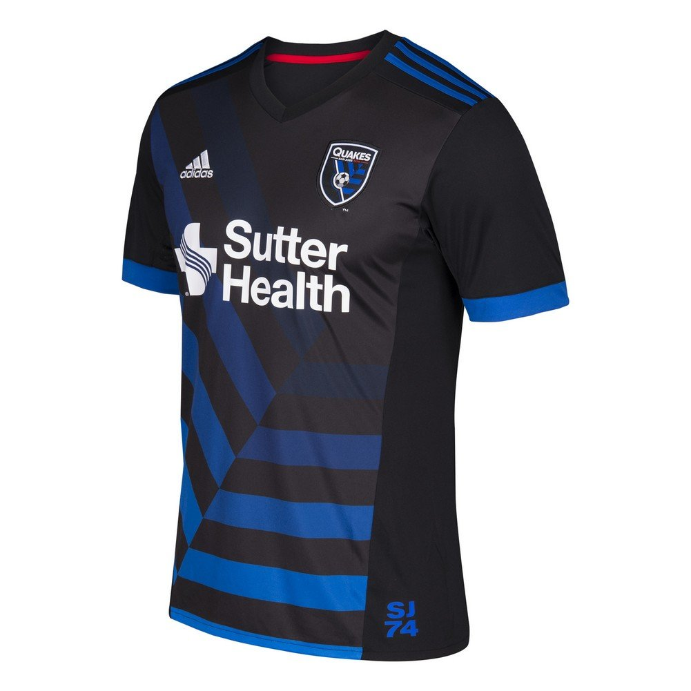 adidas San Jose Earthquakes Jersey Replica Home Soccer Jersey (XXX-Large)