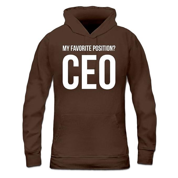 Shirtcity Sudadera con Capucha de Mujer My Favorite Position CEO by: Amazon.es: Ropa y accesorios
