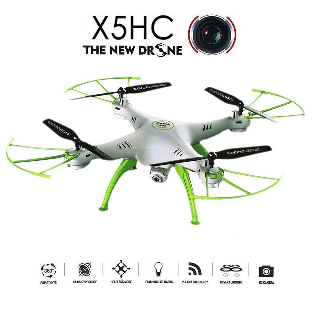 GoolRC X5HC 2.0 MP HD cámara RC Quadcopter con 360 ° de eversione ...