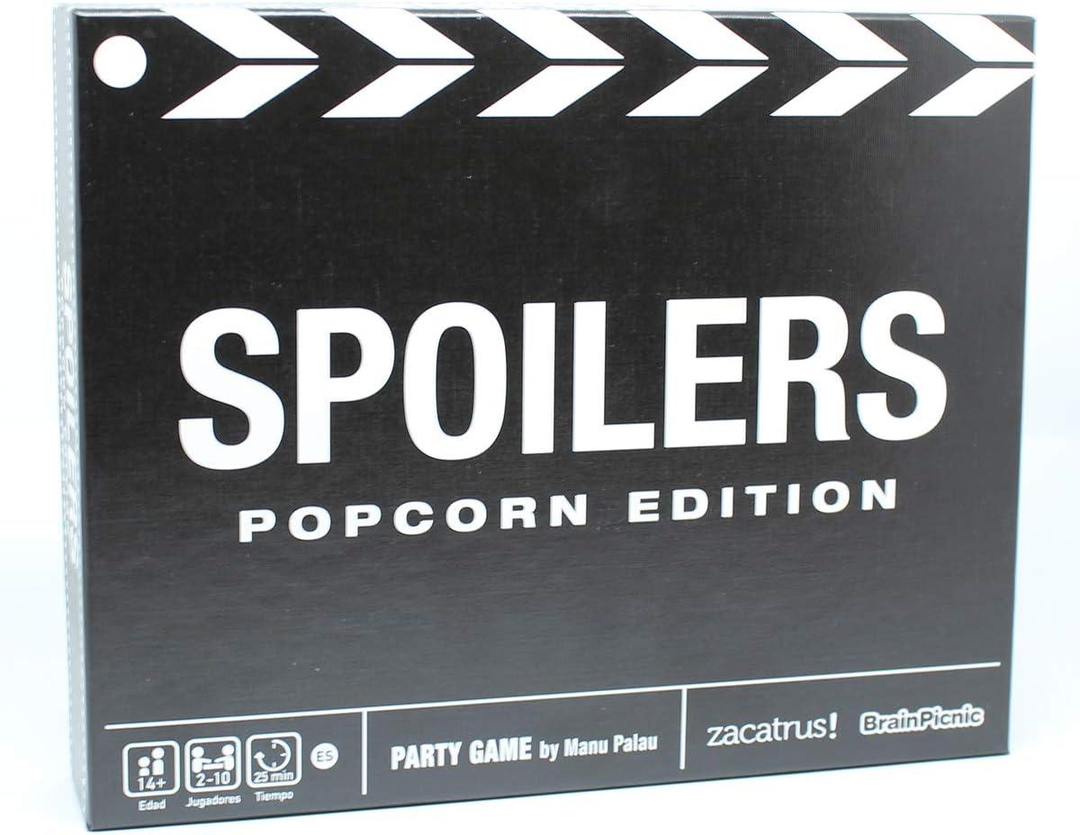 Zacatrus!- Spoilers: Popcorn Edition Juego de Mesa, Color nego y ...