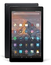 Fire HD 10-Tablet, Zertifiziert und generalüberholt, mit Alexa Hands-free, 25,65 cm (10,1 Zoll) 1080p Full HD-Display, 32 GB, schwarz, mit Spezialangeboten