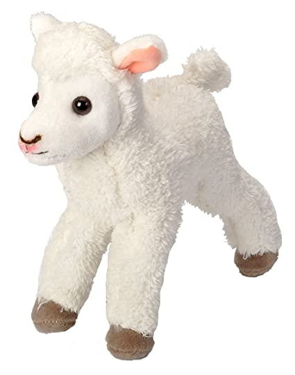Wild Republic Lamb Plush, Stuffed Animal, Plush Toy, Gifts for Kids, Cuddlekins