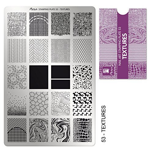 Moyra 2 plates: Texture 53 + Matrix 54 (Matrix Plate)