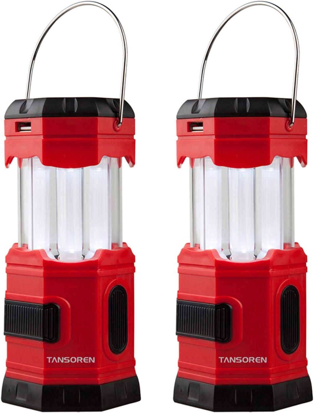 "TANSOREN LED Lantern with ""S"" Hook"