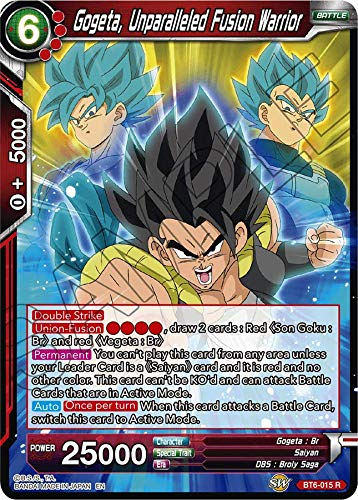 (Dragon Ball Super TCG Singles - Gogeta, Unparalleled Fusion Warrior - BT6-015 - R - Destroyer Kings)
