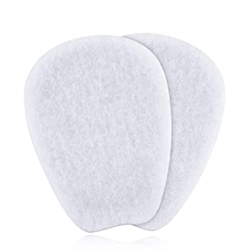 7 Pairs Of Felt Tongue Pads Cushion For Shoes Size Large
