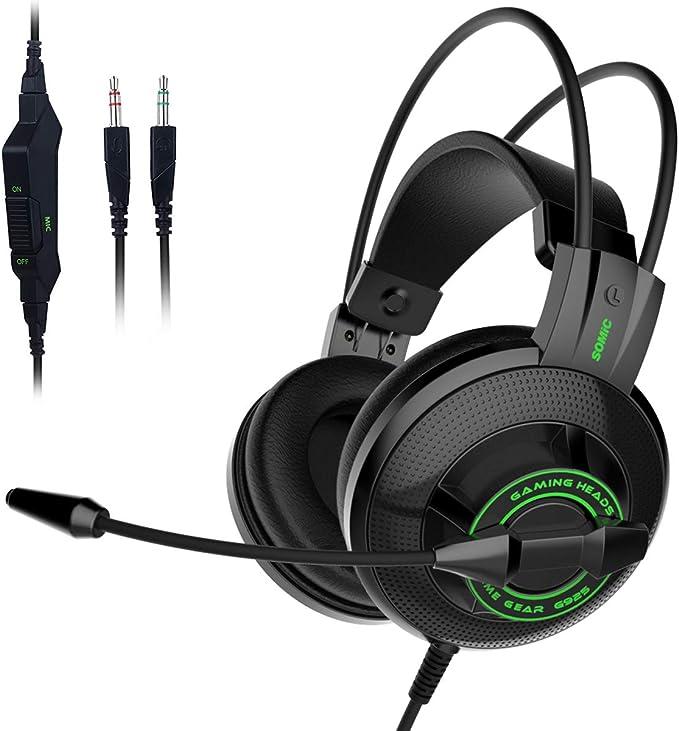 SOMIC G925 Auriculares estéreo para juegos para PS4, Xbox ...