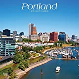 Portland 2019 12 x 12 Inch Monthly Square Wall Calendar, USA United States of America Oregon Pacific West Coast City