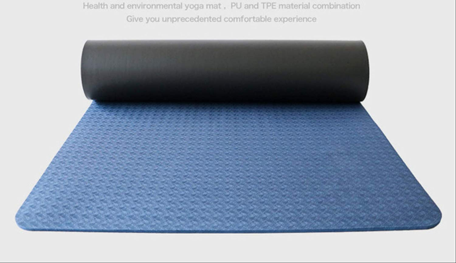 jkkl India Tpe 183Cm * 66Cm * 5Mm Yoga más largo ...