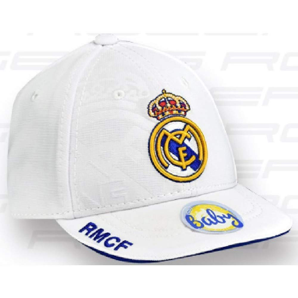 Gorra Real Madrid bebé Blanco Primer Equipo [AB3930]: Amazon.es ...