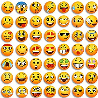 MORCART Emoji Refrigerator Magnets for Fridge Locker Office Whiteboard Lockers Classroom Decor Cute Funny Gifts for Adults Party Favors 54 Pcs