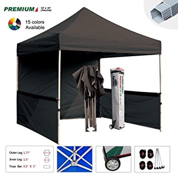 Eurmax Event canopy Canopy Booth Market stall Portable Exhibition booth Trade show Display Bonus 4pcs weight  sc 1 st  Amazon.com & Amazon.com: Eurmax Event canopy Canopy Booth Market stall Portable ...