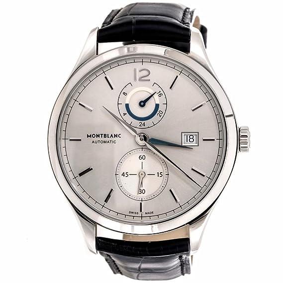 Montblanc Patrimonio automatic-self-wind Mens Reloj 112540 (Certificado) de segunda mano: Montblanc: Amazon.es: Relojes