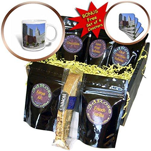 3dRose Cities Of The World - City Of Tulsa, Oklahoma - Coffee Gift Baskets - Coffee Gift Basket (cgb_268625_1)