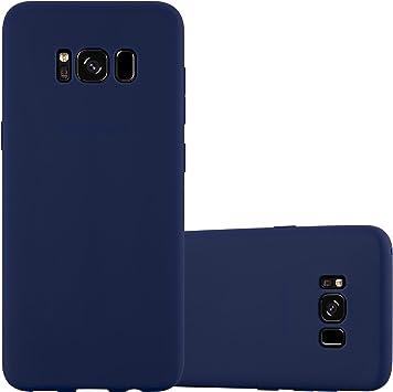 Cadorabo Funda para Samsung Galaxy S8 Plus en Candy Azul Oscuro ...