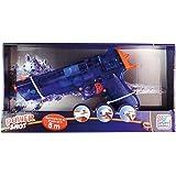 Happy People 17155 - Strand- und Badespielzeug - Wasserpistole WP300, circa 30 cm mit Sound, Batterie betrieben