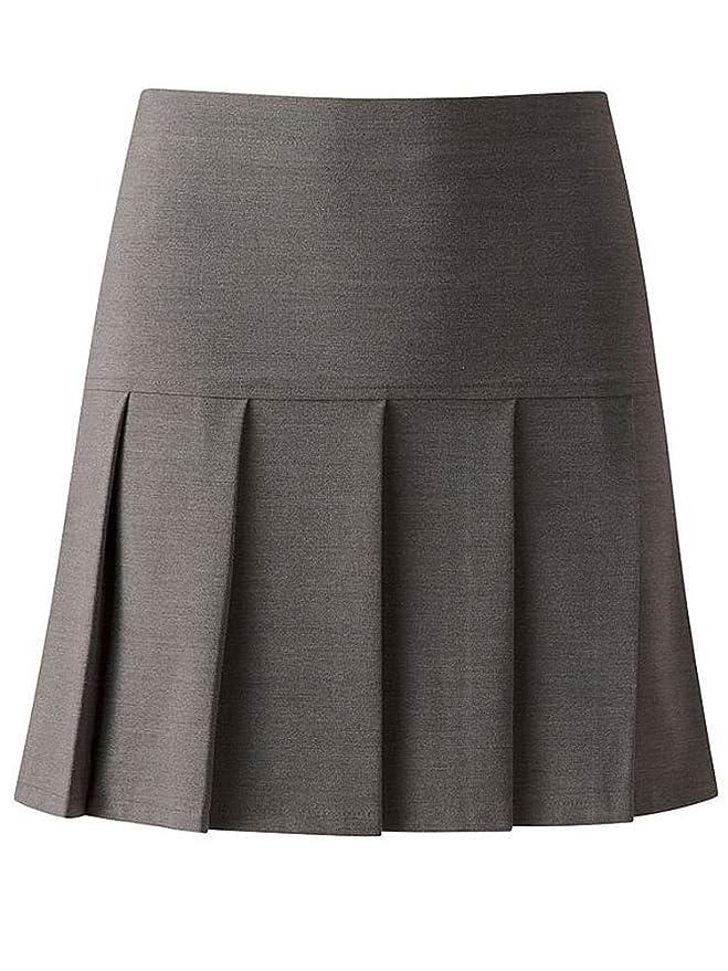 David Luke School-Uniform Senior Drop Waist Pleated School Skirt Girls Summer Schoolgear